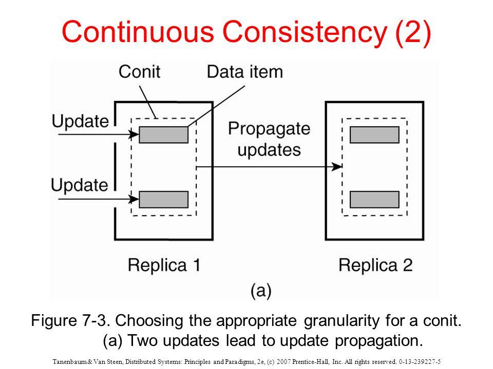 Continuous Consistency (2)