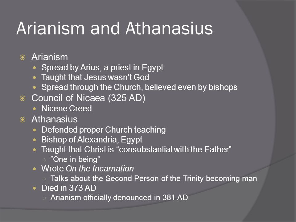 "christianity in on the incarnation by athanasius and confessions by augustine A brief history iii st athanasius  st athanasius: on the incarnation  under many different emperors until emperor constantine ""accepts"" christianity in."