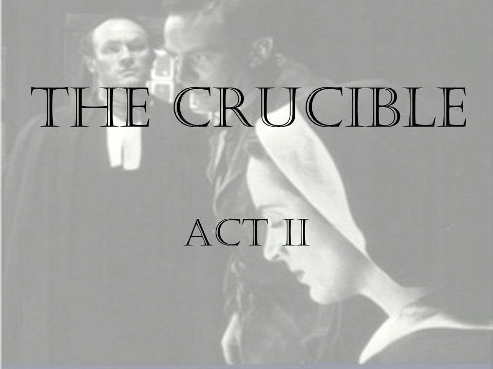 which character type fits abigail in the crucible