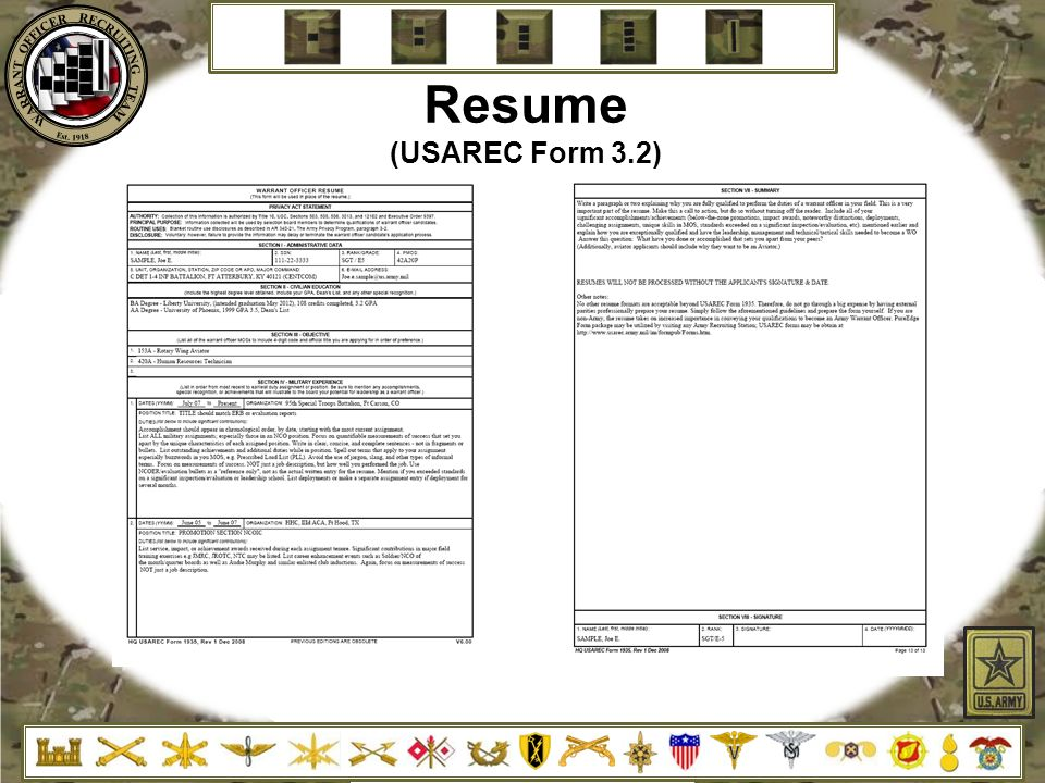 warrant officer resume form text resume format officer