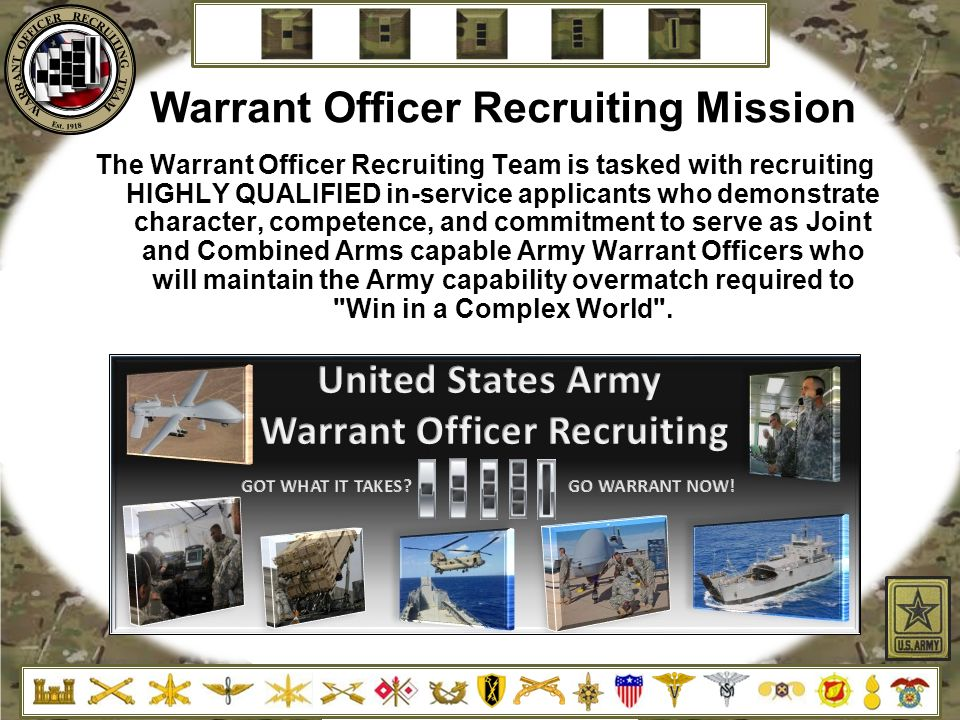 Warrant Officer Recruiting Mission