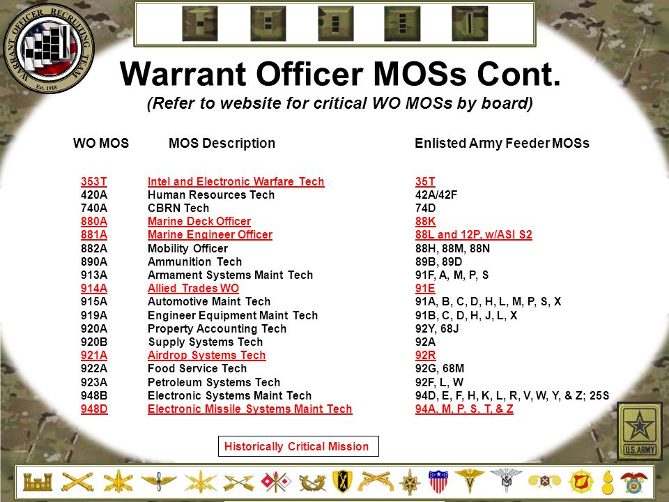 from warrant officer to police officer essay Cgsc student papers military police fort leonard wood, missouri quarter master warrant officer program warrant officer assignments.