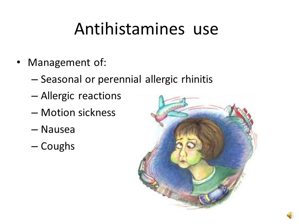 non sedating antihistamines for allergic rhinitis Antihistamines are mainly used to treat seasonal allergic rhinitis (hay fever however, non-sedating antihistamines tend to be used more commonly as they.