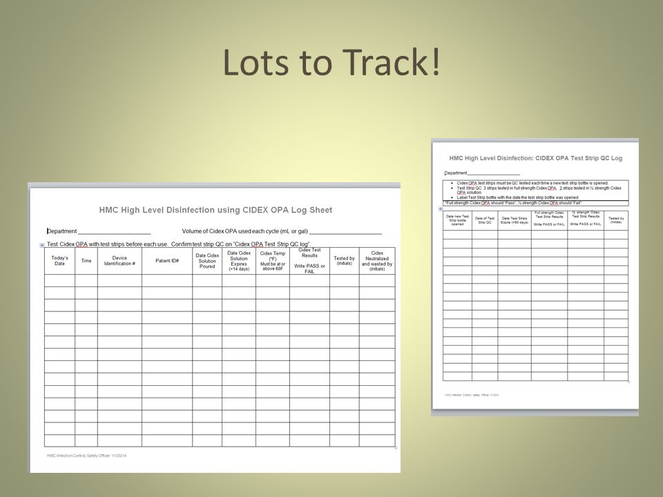 Cidex Opa Log Sheets Related Keywords Suggestions Cidex