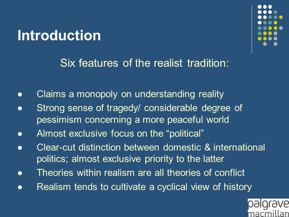 theory of realism in international relations pdf