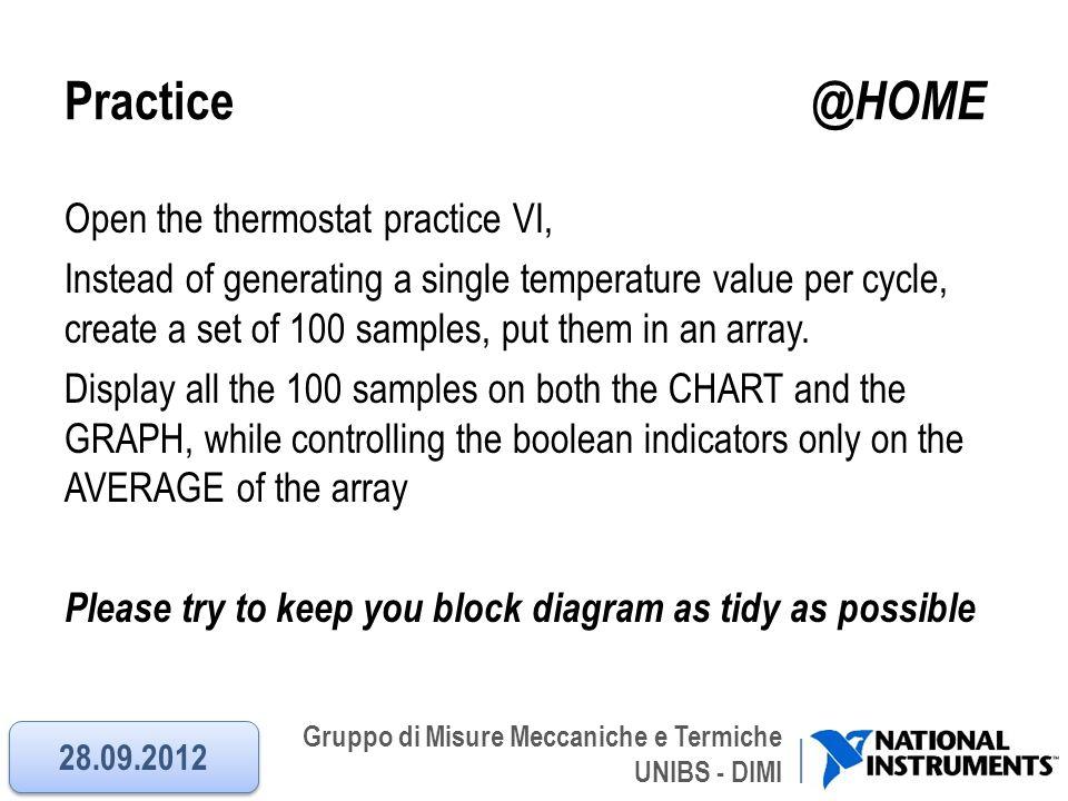 Practice @HOME