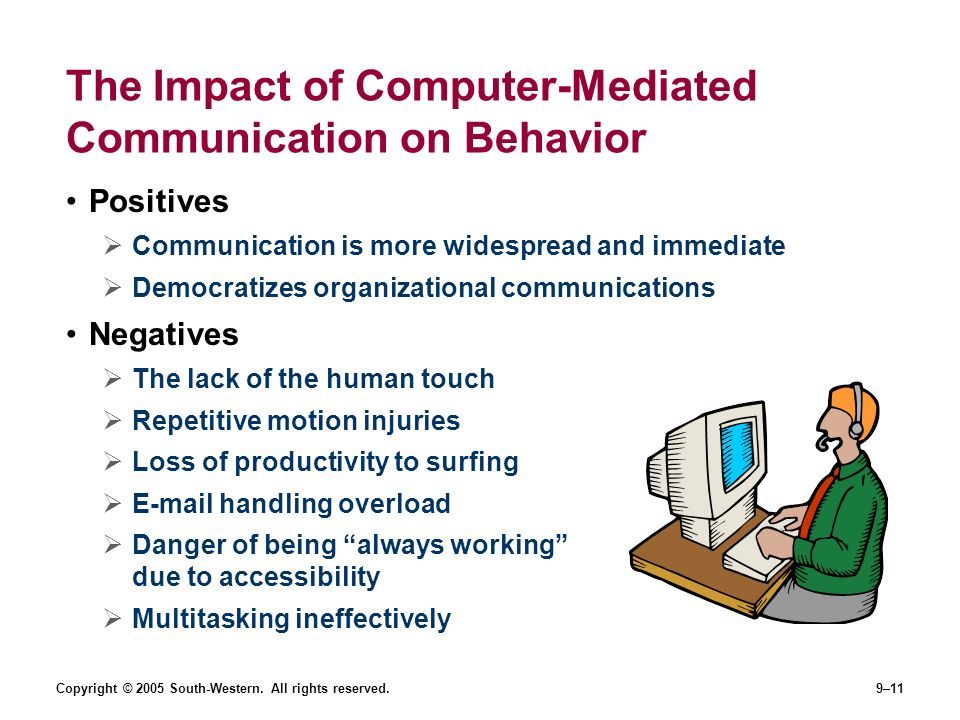 com 200 the influence of mediated communication The influence of computer-mediated communication apprehension on  don ( 2008a) found tha t individuals use faceboo k to primarily fulfill.