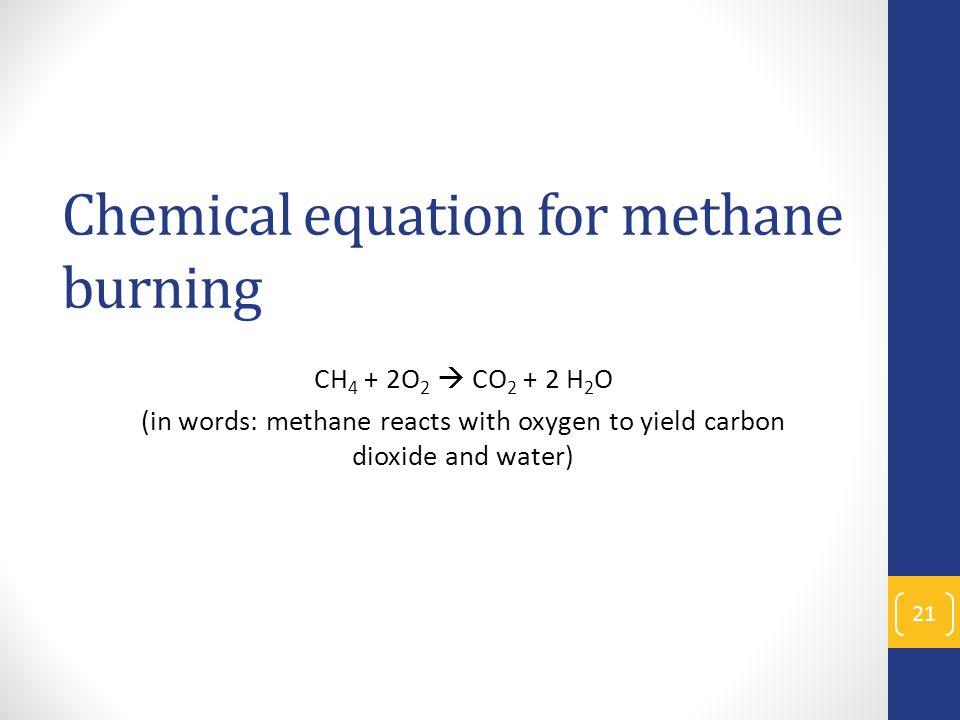 Modeling & Explaining Ethanol Burning - ppt video online download
