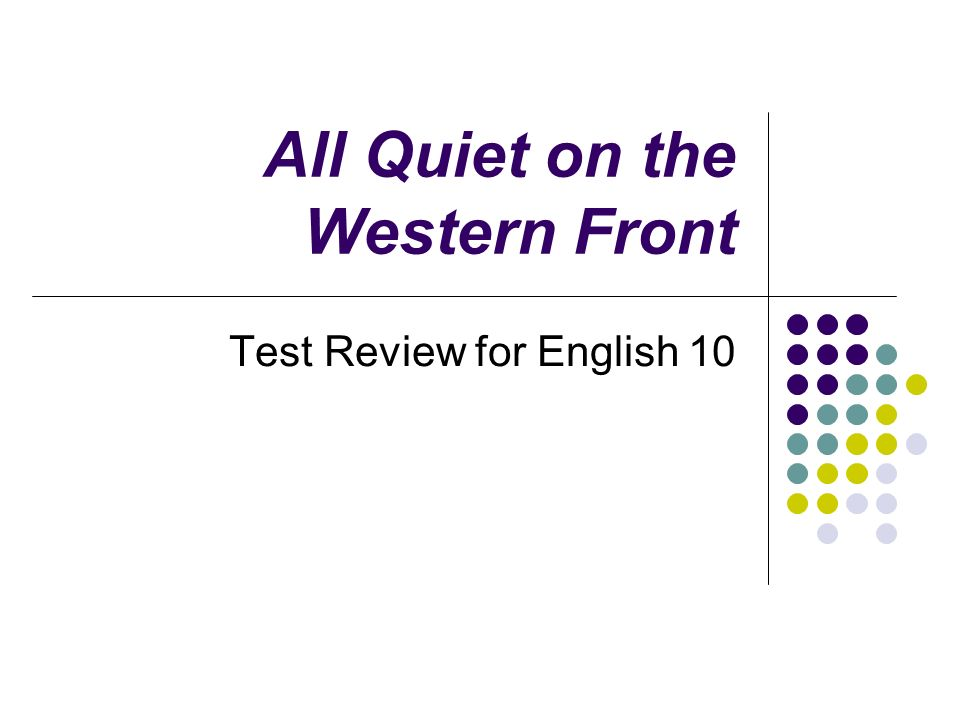 All quiet on the western front essay conclusion western civilization essay ancient essay ancient greek essay ShowMe  Download paper Add to wishlist Delete from