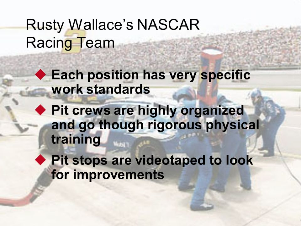 Rusty Wallace's NASCAR Racing Team