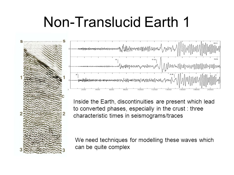Non-Translucid Earth 1