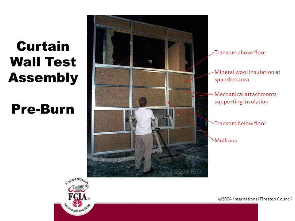 Curtain Wall Assembly : Fire containment in multi story buildings ppt download