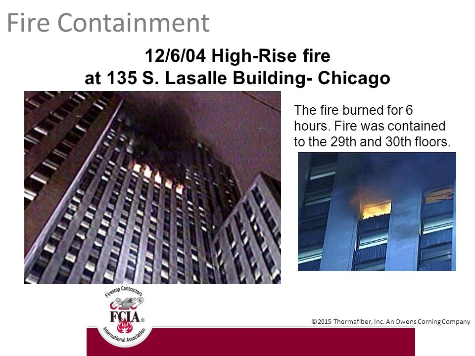Chicago Fire  Building Codes