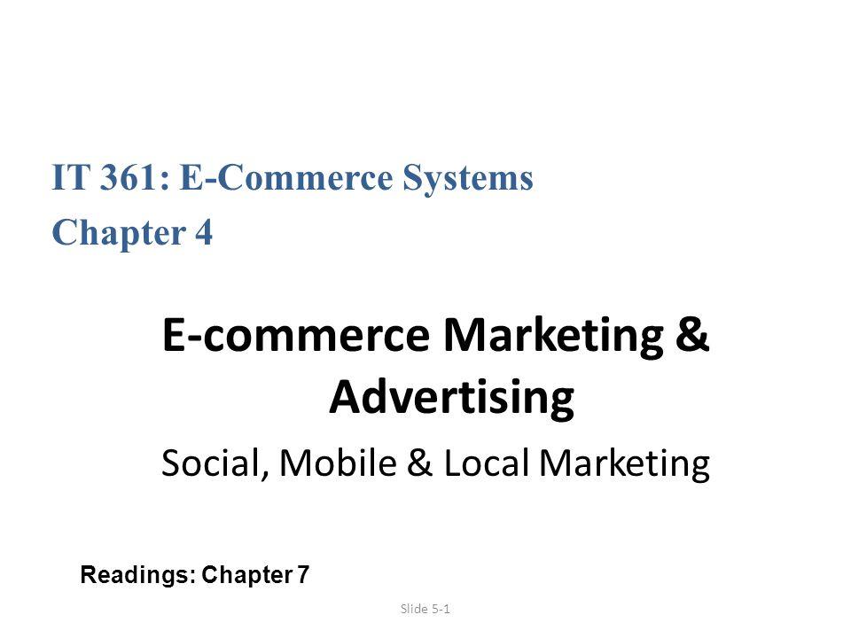 E-commerce Marketing & Advertising