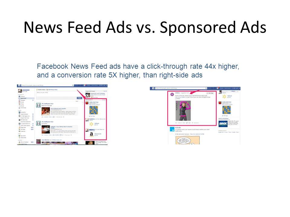 News Feed Ads vs. Sponsored Ads