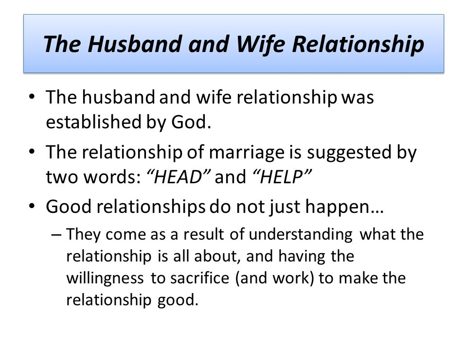 wife and husband relationship by chaganti