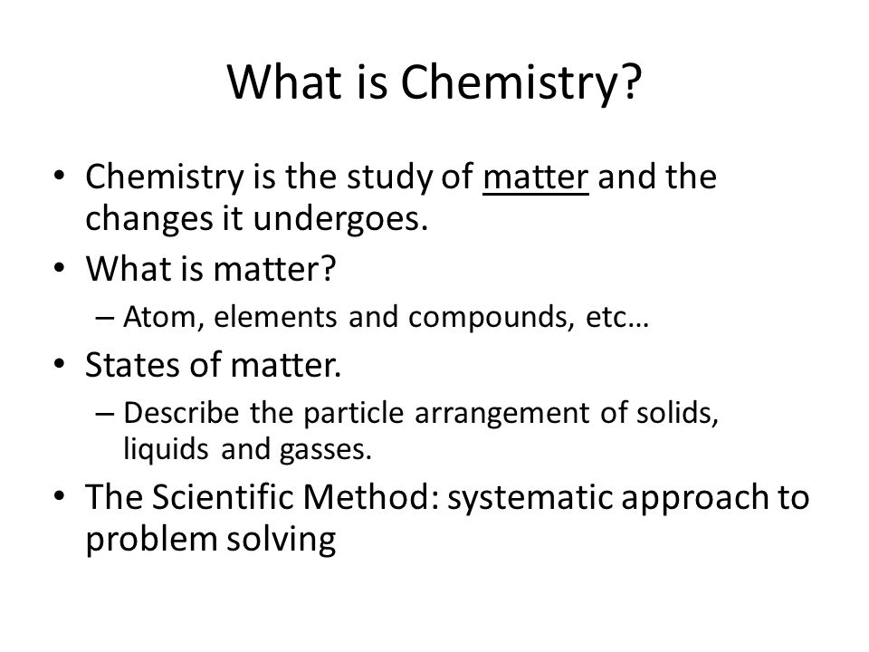 Chapter 1 Chemistry the Study of Change(2) | Significant ...