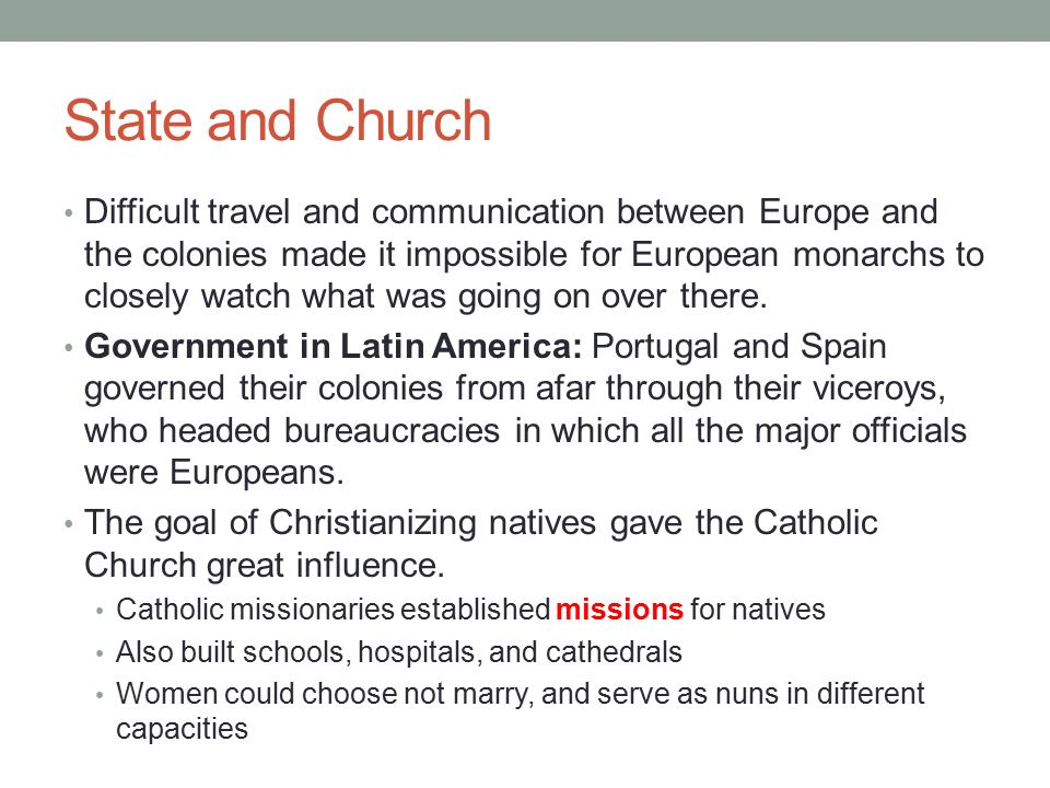 an analysis of the catholic churchs influence on the region of latin america Region: lebanon (approximately one third) due to closer ties with the latin church, the maronite church is among the most latinized of the eastern catholic churches in north and central america: maronite catholic eparchy of saint maron of montreal.