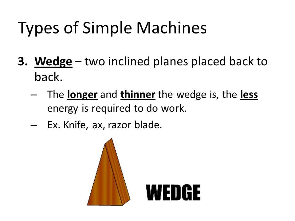 types of machine