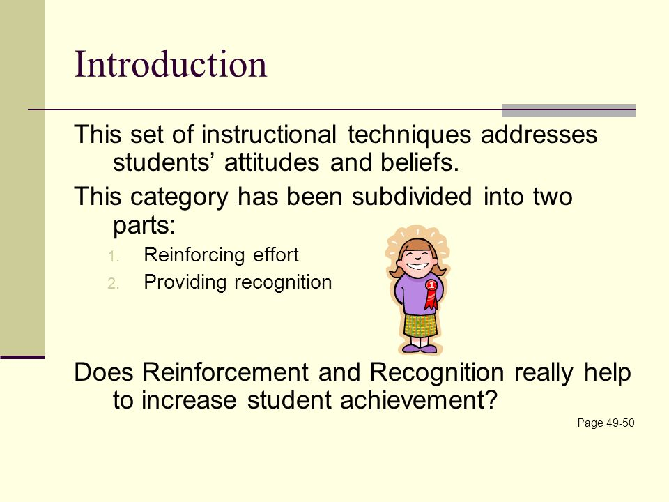 the effect of student attitudes and beliefs Student' attitudes toward learning and school  exploratory models about the effects of factors – students' gender, contextual background,  relationship between the college-related attitudes and beliefs with students' performance, even among urban students in short, the results of existing studies.