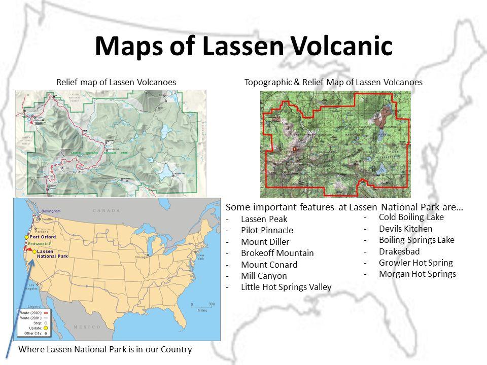 Maps Of Len Volcanic