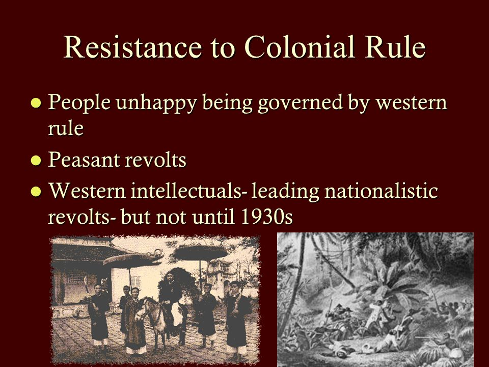 African Resistance to Colonial Rule