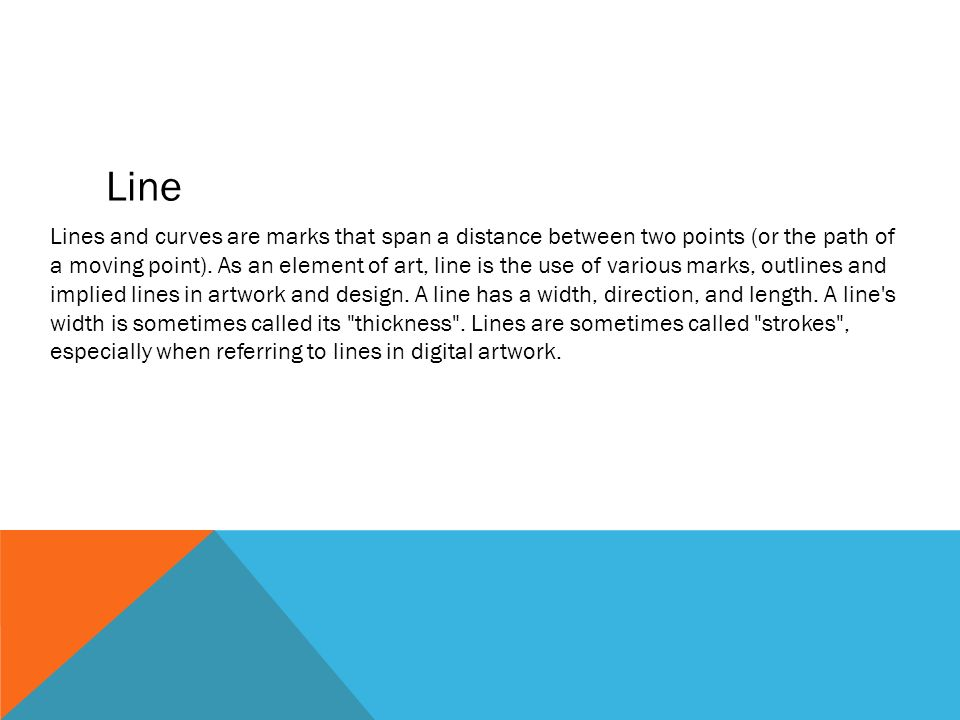 Line Between Art And Design : Elements of design value and color ppt video online