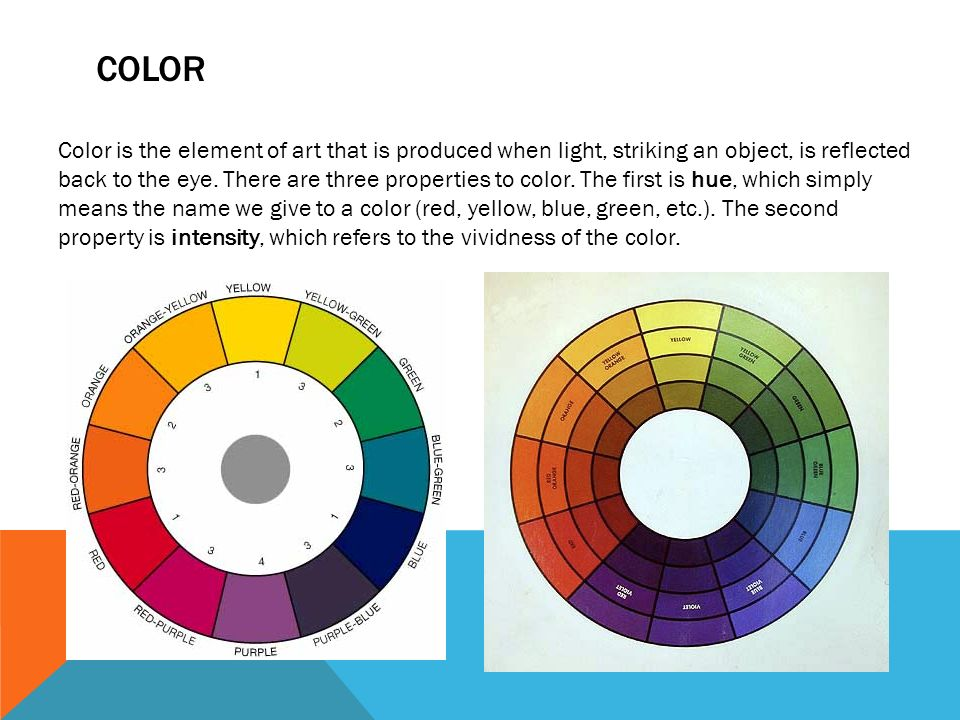 Give The Elements Of Art : Elements of design value and color ppt video online