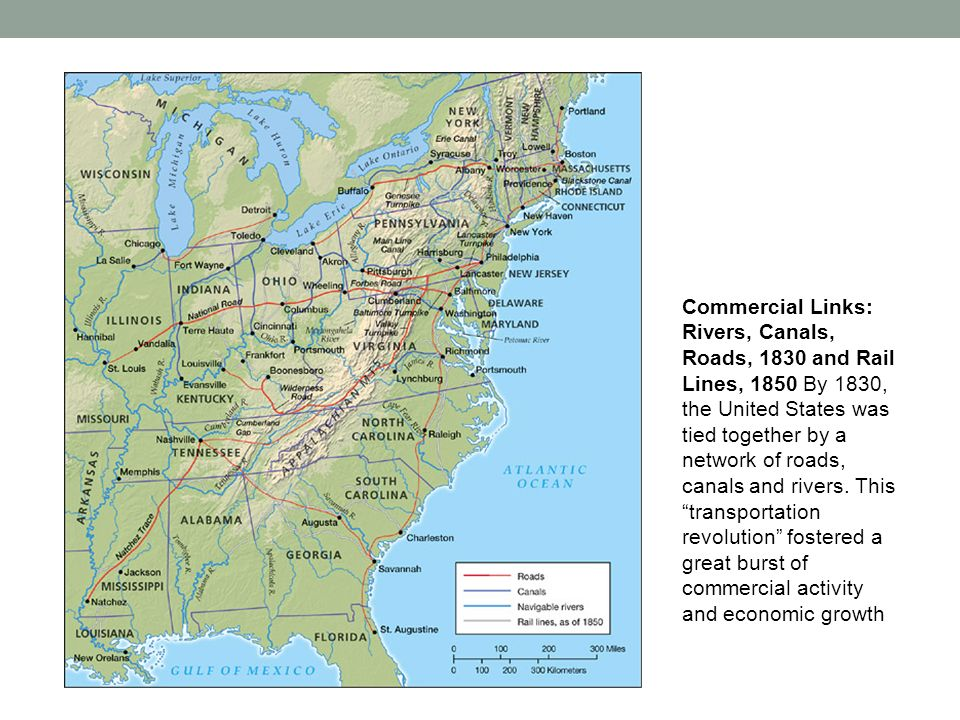 Canals In The United States : Industry and the north s ppt video online
