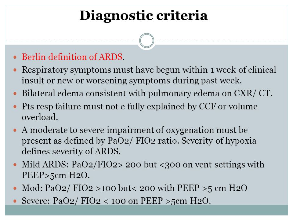 ards term paper Acute respiratory distress syndrome: new nonspecific diagnostic criteria to diagnose ards this review article will summarize the key that this term was.
