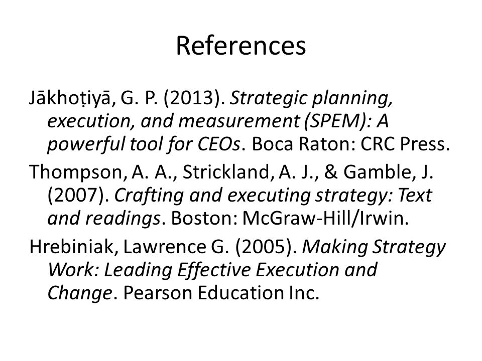 Thompson strickland and gamble crafting and executing strategy text and readings mcgraw hill