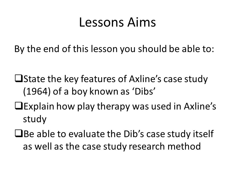 famous case study by virginia axline in search of self ppt  2 lessons