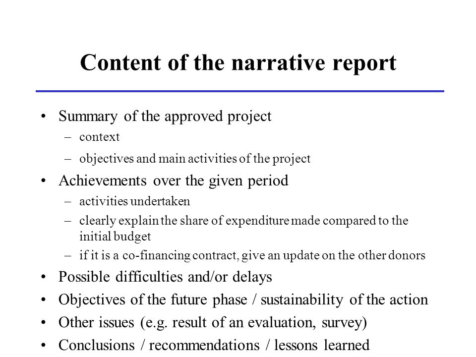 parts of narrative writing An important part of narration is the narrative mode, the set of methods used to communicate the narrative through a process narration (see also narrative aesthetics below) along with exposition, argumentation, and description, narration, broadly defined, is one of four rhetorical modes of discourse.