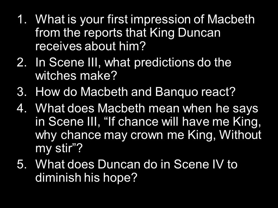 how does macbeth feel about his new prophecies from the witches Witches effect in macbeth because of his ambition and the influence of his wife and the witches prophecies macbeth's actions lead to his downfall.