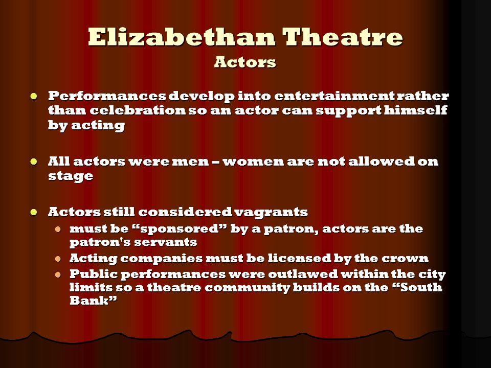 English Renaissance Theatre - ppt video online download