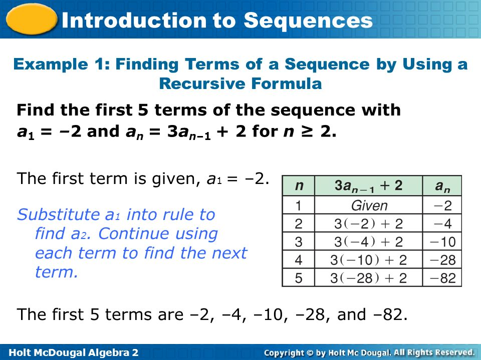 write a recursive formula for the sequence calculator nth