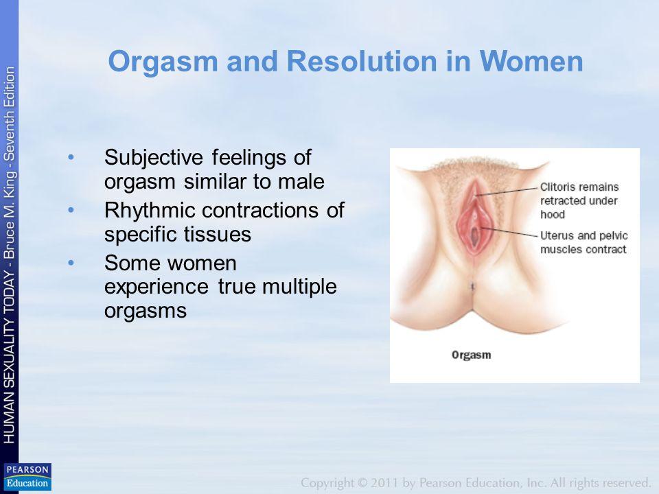 Female orgasm physiological symptoms no sensation