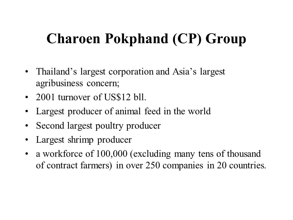 Charoen Pokphand (CP) Group