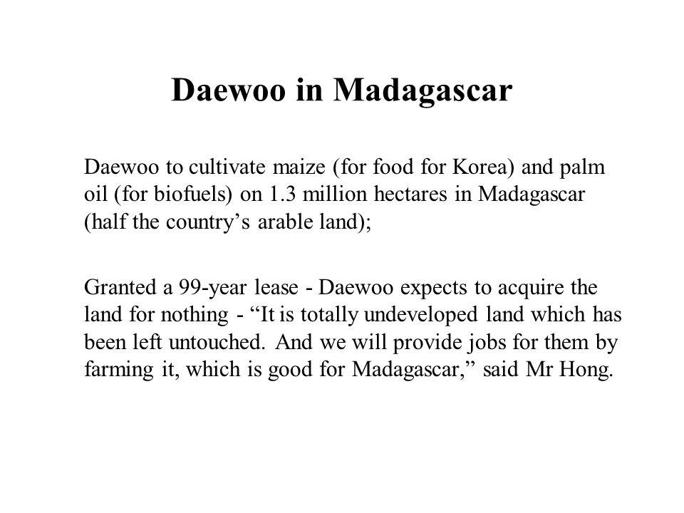 Daewoo in Madagascar