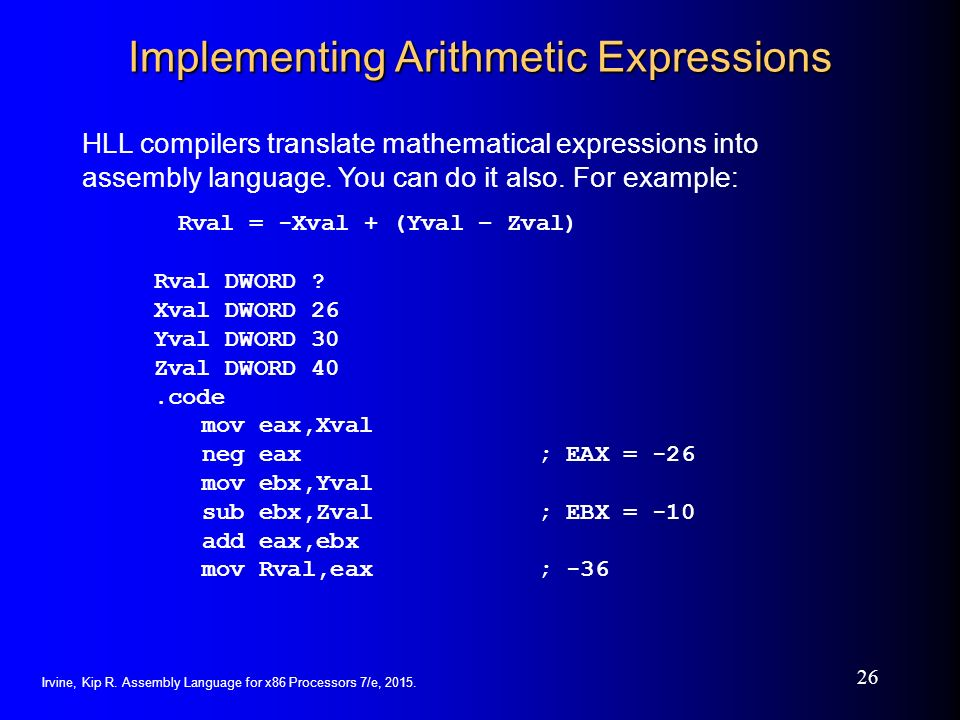 Arithmetic expression compiler download