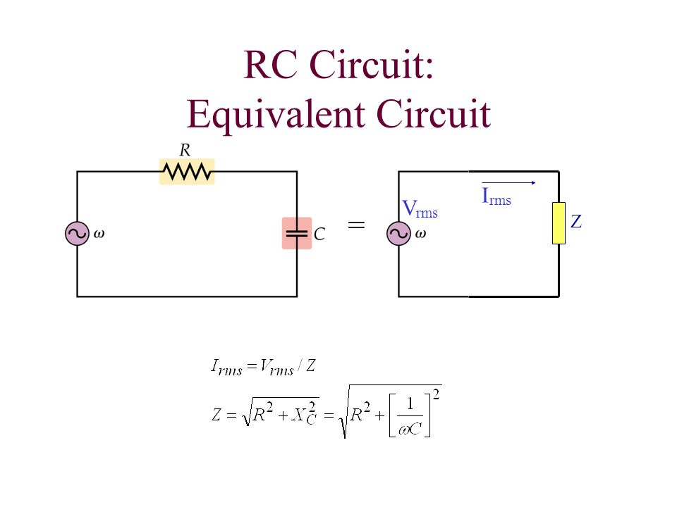 Chapter 24 Alternating Current Circuits