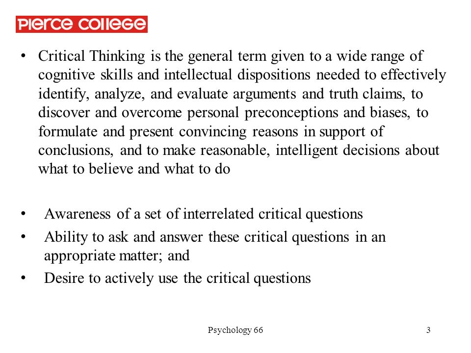 critical thinking 5 essay
