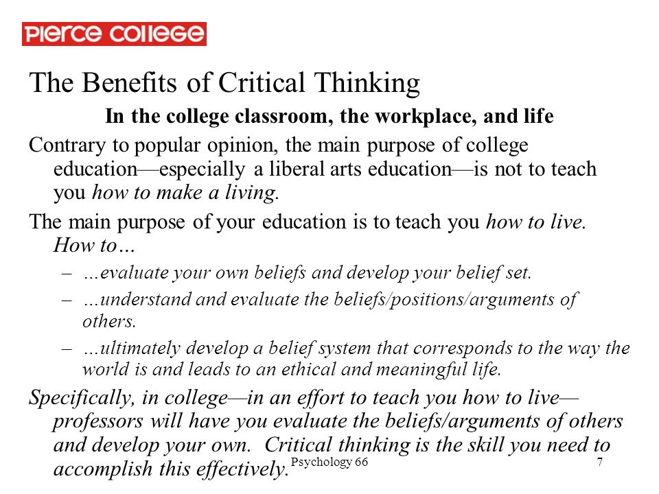 What Are the Benefits of Critical Thinking Skills?