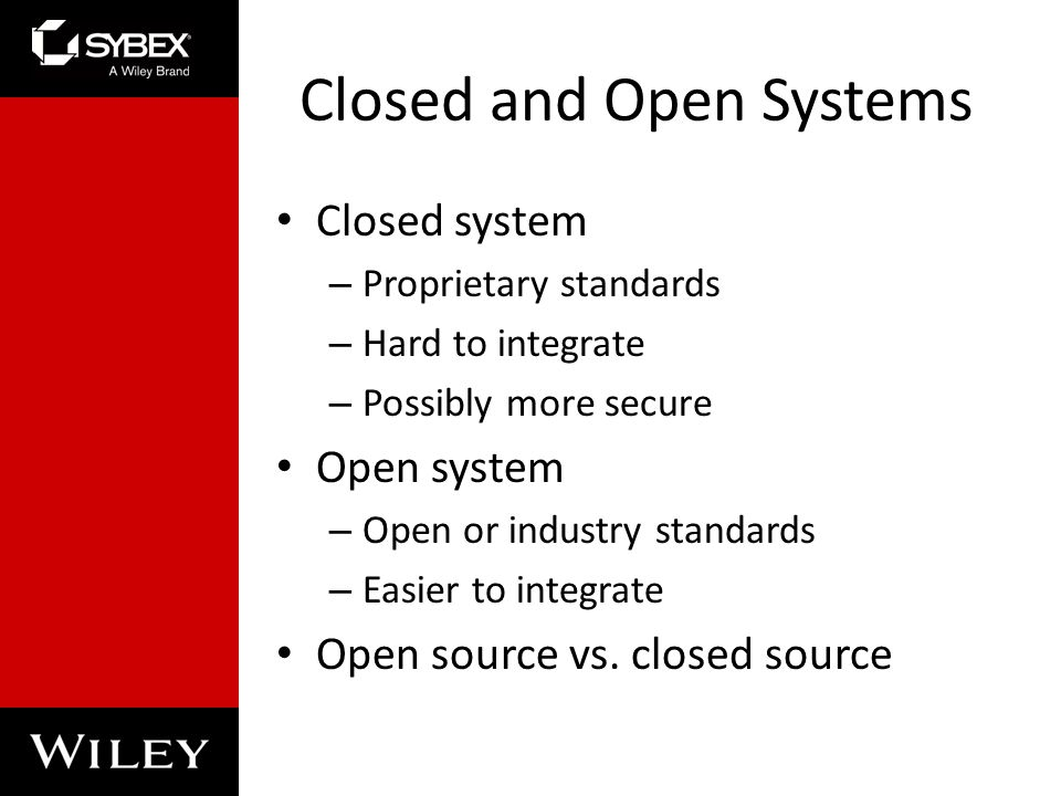 Open Vs. Closed Source Operating System