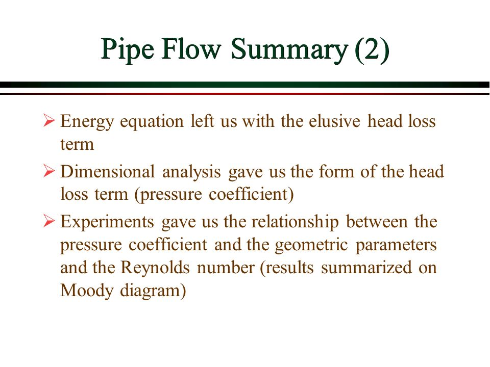 Viscous flow in pipes overview ppt video online download 32 pipe ccuart Images