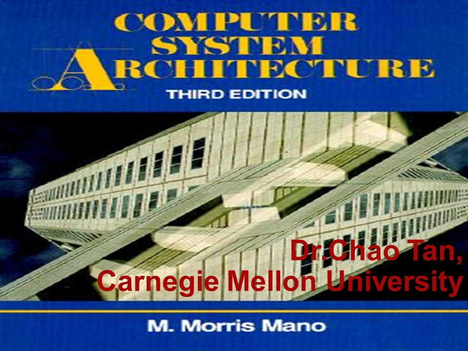 Dr.Chao Tan, Carnegie Mellon University