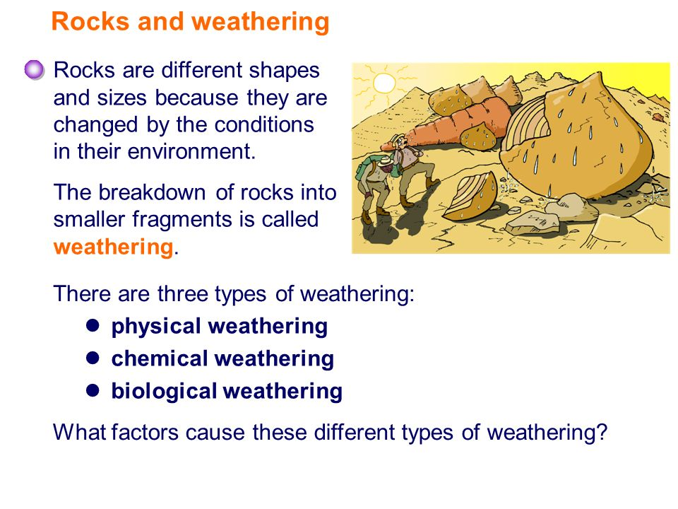 rocks and weathering ppt video online download