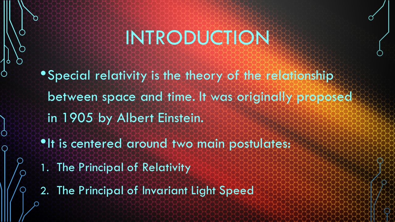 an introduction to the theory of relativity by albert einstein Buy a cheap copy of relativity: : the special and general book by albert einstein how better to learn the special theory of relativity and the general theory of relativity than directly from their creator, albert einstein himself in relativity: free shipping over $10.