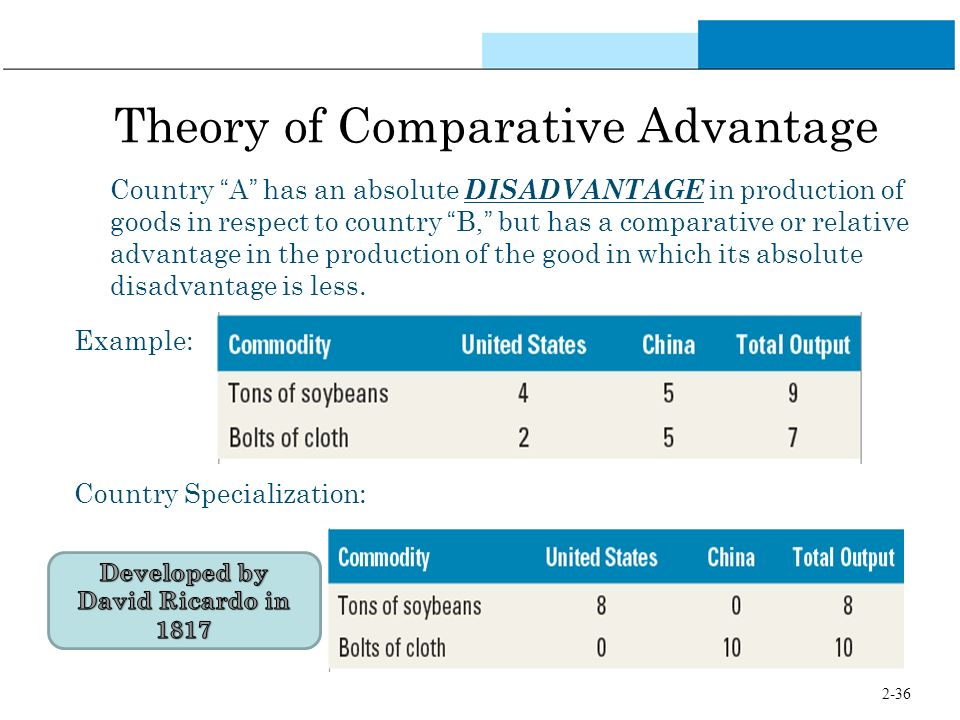 business international trade and comparative advantage In determining potential gains from trading with foreign entities, businesses must consider the absolute and comparative advantages of the exchange.