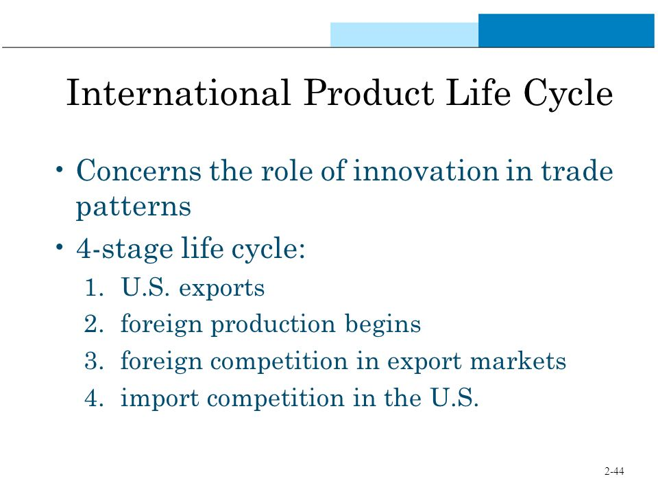 international product life cycle pdf